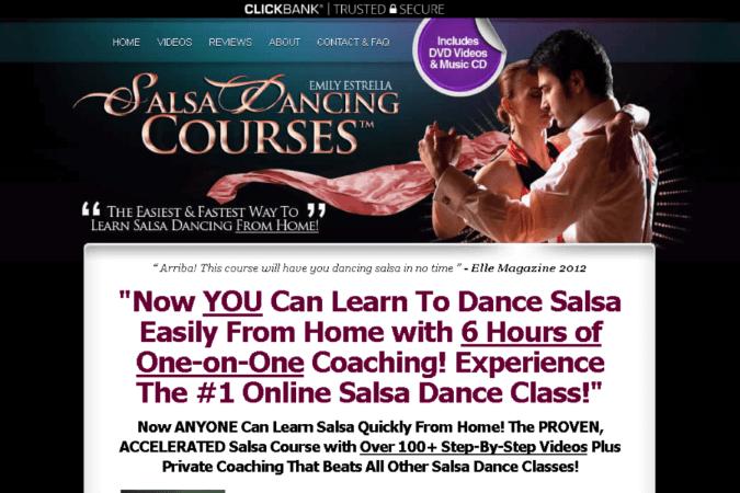 SalsaDancingCourses Site