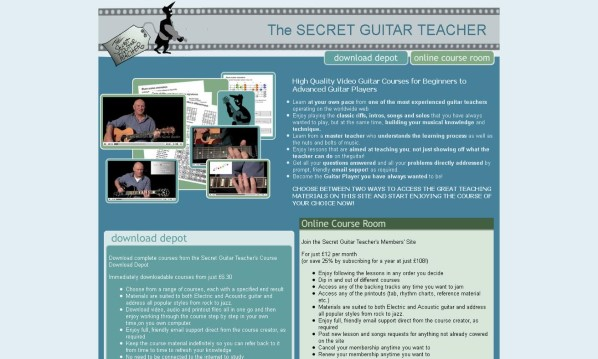 Secret Guitar Teacher Review - It's Really Good?