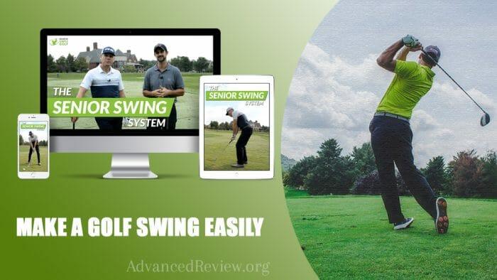 Simple Senior Swing Make a Golf Swing Easily