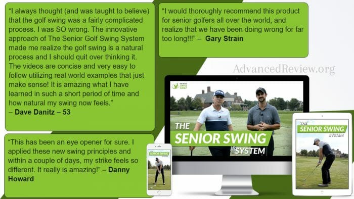 Simple Senior Swing Testimonial