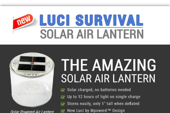Solar Air Lantern Site