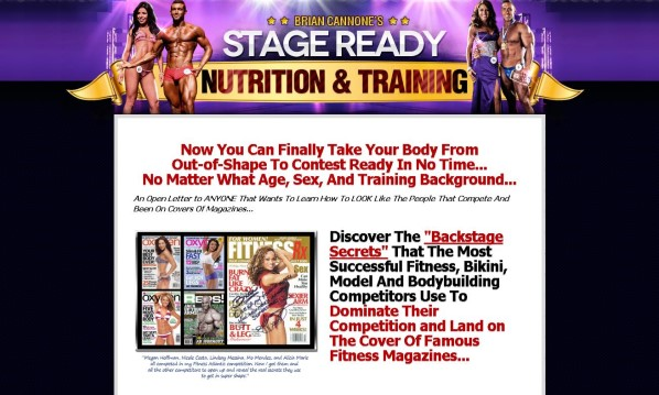 Stage Ready Nutrition and Training Review: Read Before Buying