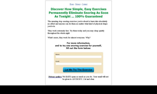 Stop Snoring Exercise Program Review: The Truth Revealed!