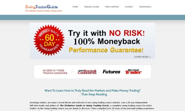 Swing Trader Guide Review - It Is Effective? Read Before You Buy!