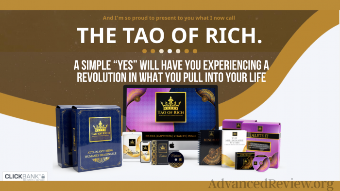 Tao Of Rich Product Package