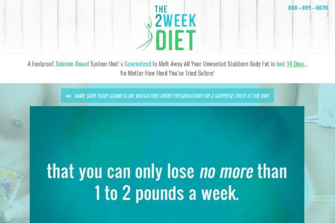 The 2 Week Diet Site