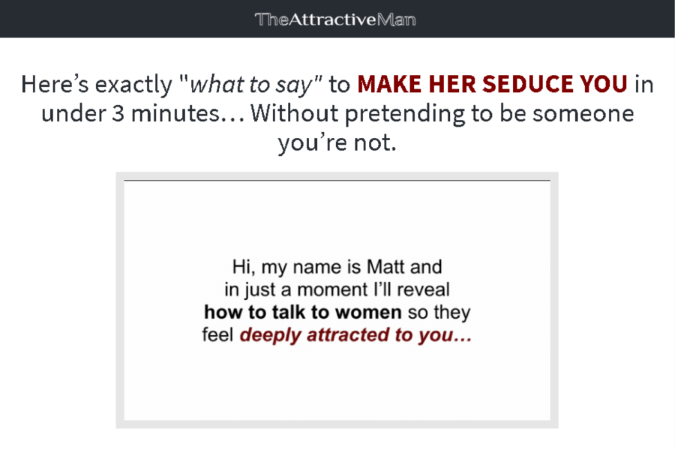 The Language of Attraction Site