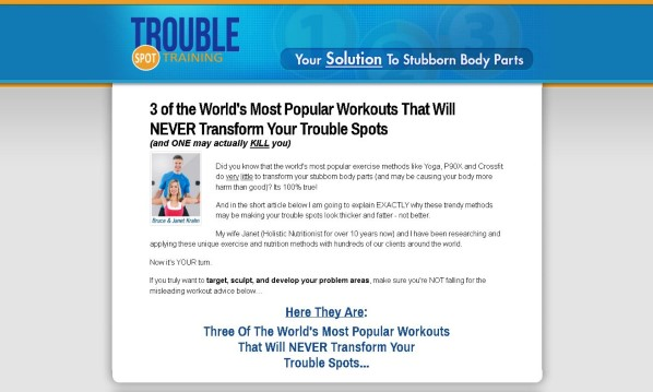 Trouble Spot Training No Hype Review - Get the Facts!