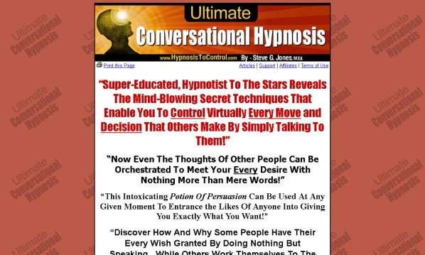 Ultimate Conversational Hypnosis Review - It Is Effective?