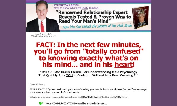 Whats He Really Thinking Review - It Is Effective?