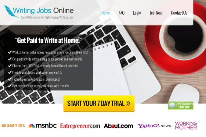 Writing Jobs Online Site