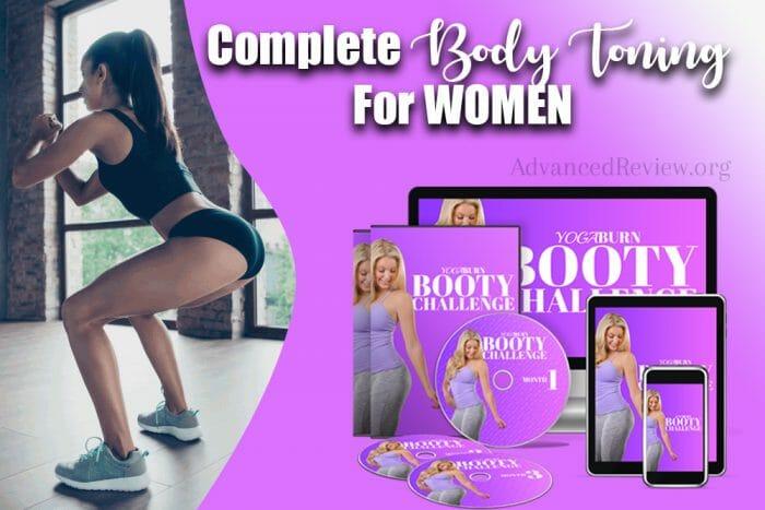 Yoga Burn Booty Challenge Complete Body Toning for Women