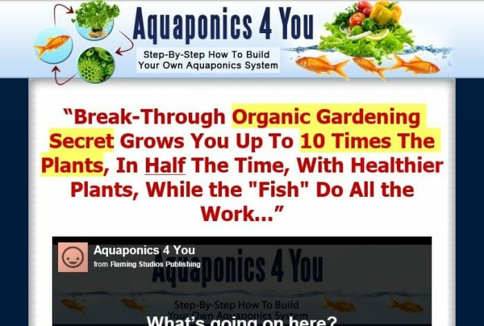 Aquaponics 4 You Review - It Is Effective?