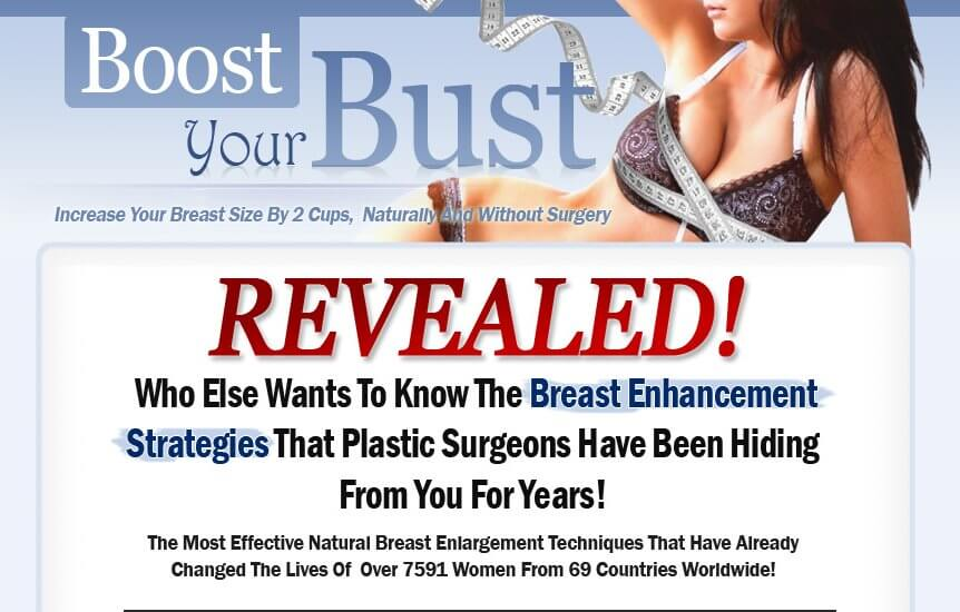 Boost Your Bust Review - Does it Really Work?