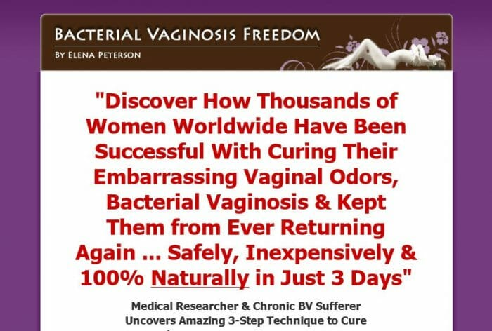 Bacterial Vaginosis Freedom Review: The Truth Revealed!