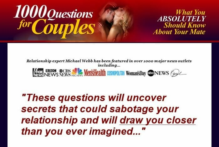 1000 Questions For Couples Review