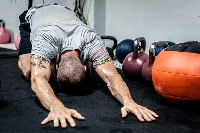 exercising photo