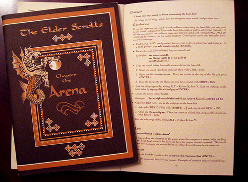 elder scroll game