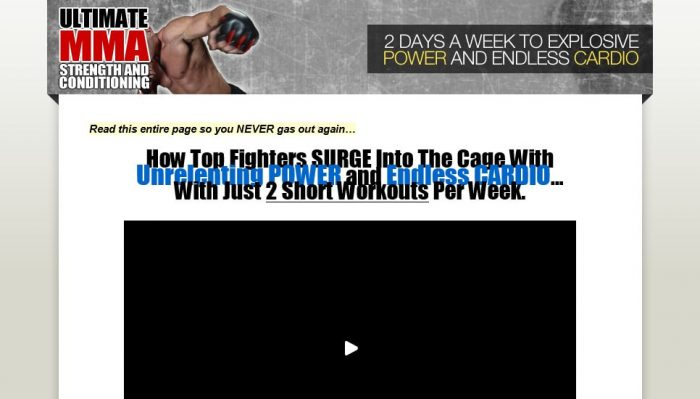 Ultimate MMA Strength and Conditioning Review