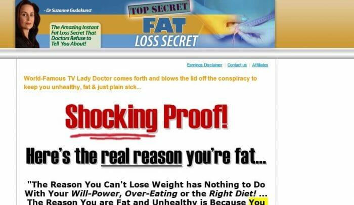 Top Secret Fat Loss Secret Review