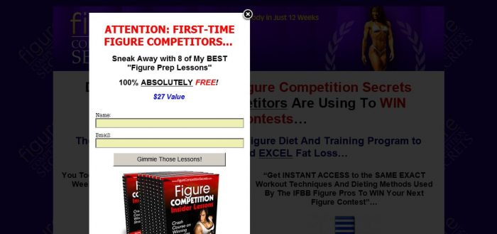 Figure Competition Secrets Honest Review