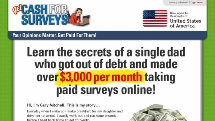 Get Cash For Surveys Review - It Is Effective?