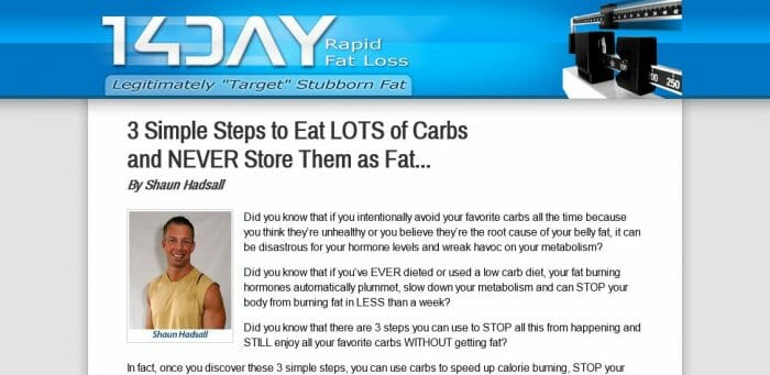 14 Day Rapid Fat Loss Plan Review: The Truth Revealed!