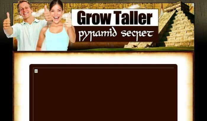 Grow Taller Pyramid Secret Honest Review