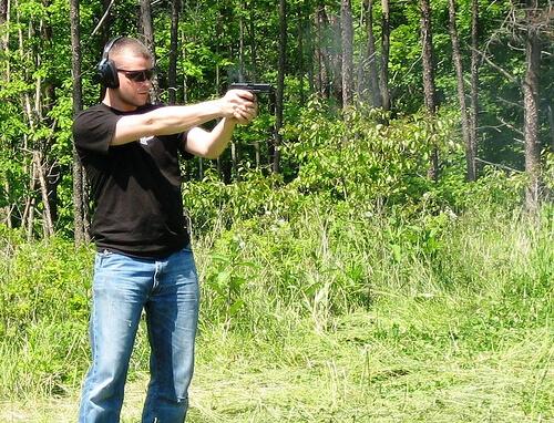 gun shooting practice