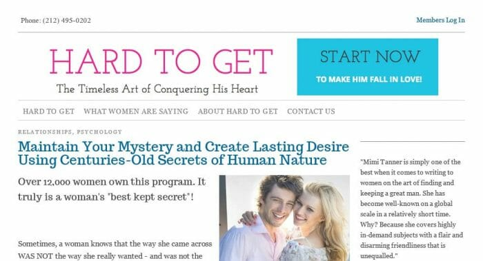 Hard To Get: The Timeless Art of Conquering His Heart Review
