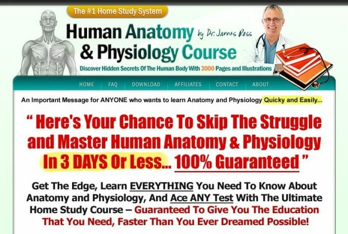 Human Anatomy and Physiology Course Review: The Truth Revealed!