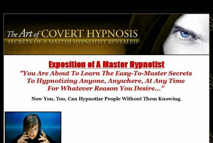 The Art Of Covert Hypnosis No Hype Review - Get the Facts!