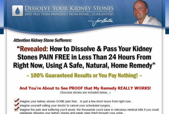 The Kidney Stone Removal Report Review: The Pros & Cons