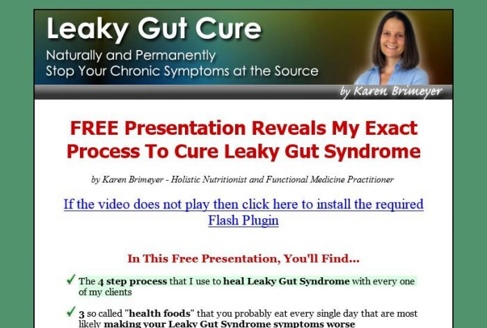 Leaky Gut Cure Honest Review