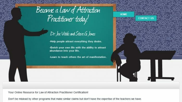 Law of Attraction Practitioner Certification Review: Read Before Buying