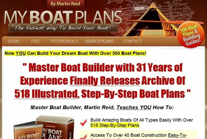 My Boat Plans Review: The Pros & Cons