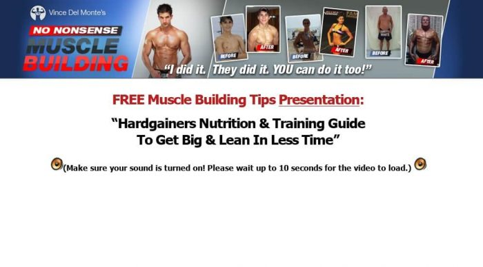 No Nonsense Muscle Building Review: Read Before Buying