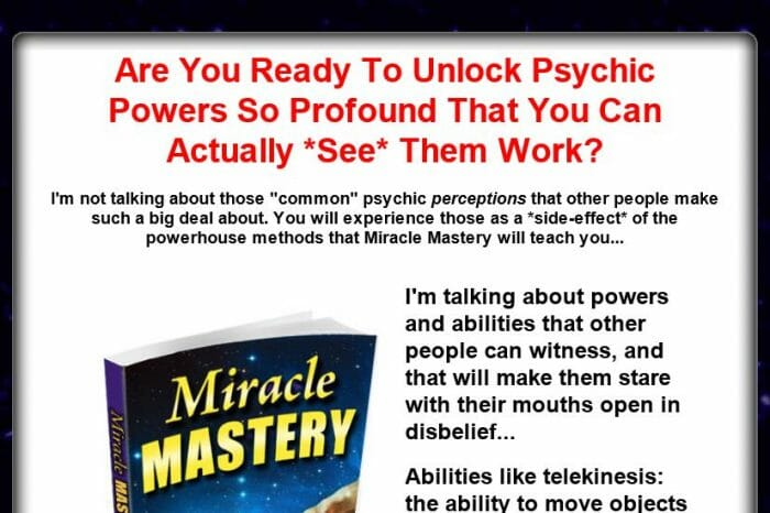 Miracle Mastery Review: What is the Cons?
