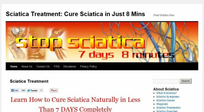 Treat Sciatica Now Review - It Is Effective?