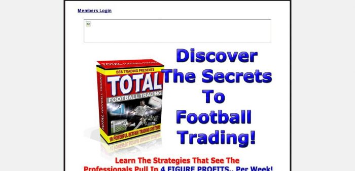 Total Football Trading Review - What are the Benefits?