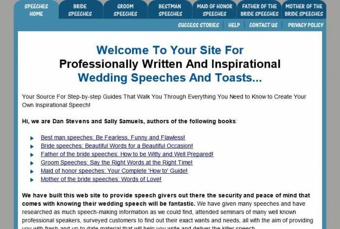 WeddingSpeech4U Review - Does it Really Work?