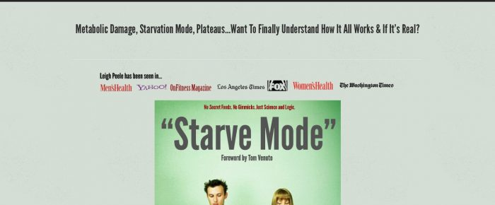 Starve Mode Honest Review