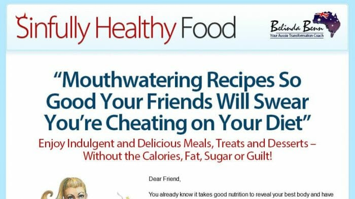 Sinfully Healthy Food Review
