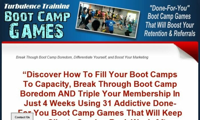 Turbulence Training Boot Camp Games Review: What is the Cons?