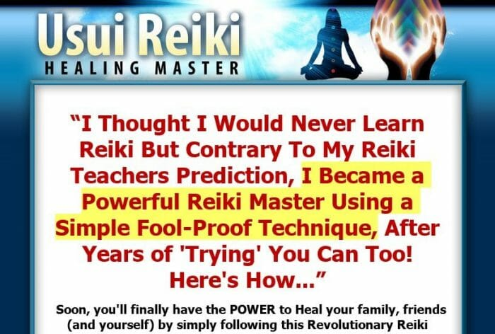Usui Reiki Healing Master Review - Does it Really Work?