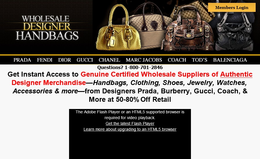 Wholesale Designer Handbag Directory Honest Review