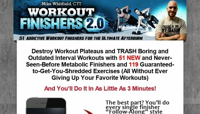 Workout Finishers Review - It Is Effective?