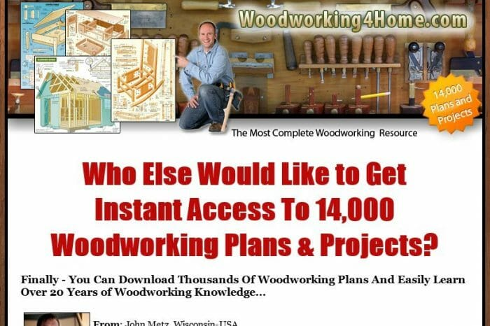 Woodworking4Home Review - It's Really Good?